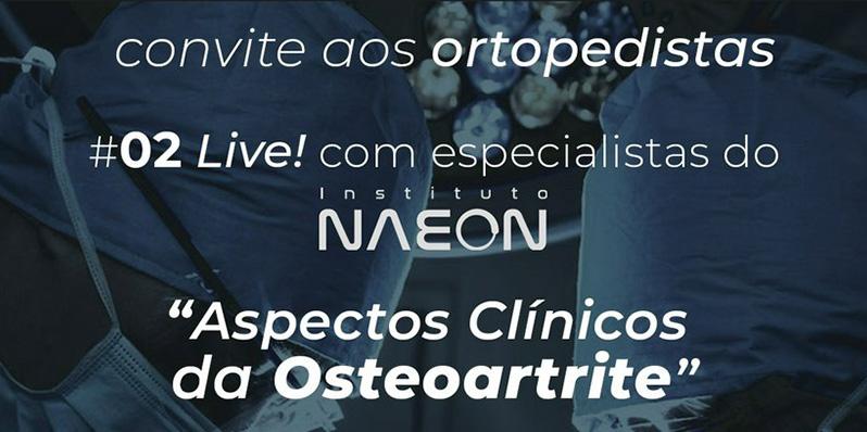 Live: Aspectos Clínicos da Osteoartrite